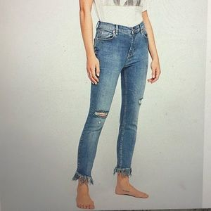 Great heights frayed skinny jeans FP